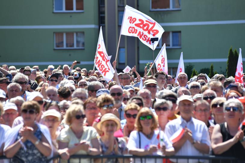 Rocznicowe obchody w Gdańsku /Wojciech Stróżyk /Reporter