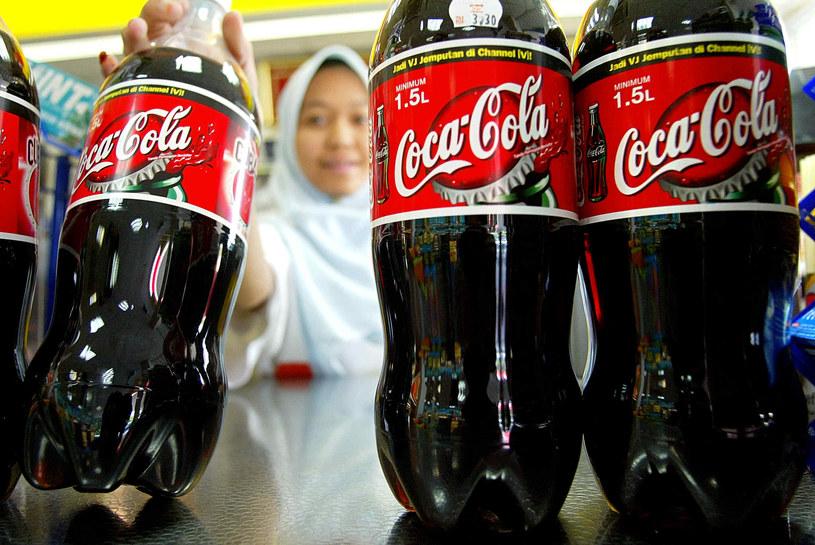 Rocznie na świecie pojawia się 12 mld nowych plastikowych butelek Coca-Coli /AFP