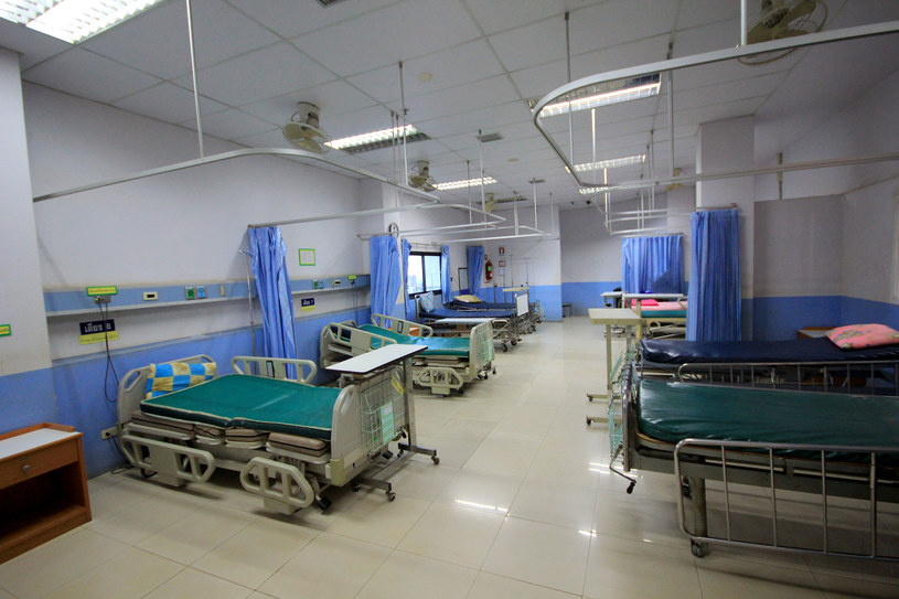 Rocznie u 5-6 proc. chorych dochodzi do zakażeń szpitalnych /123RF/PICSEL