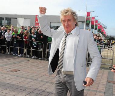 Rod Stewart pijany w telewizji? Internauci komentują