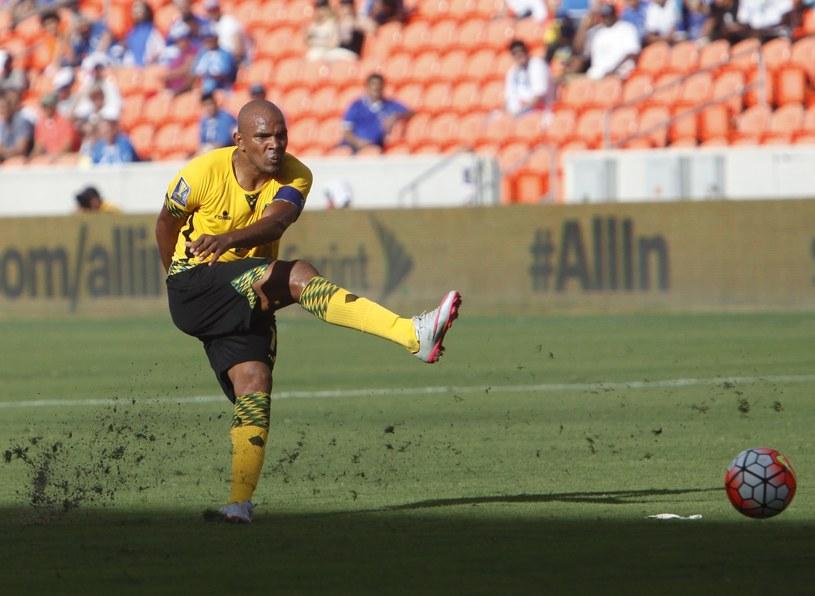 Rodolph Austin z reprezentacji Jamajki /AFP