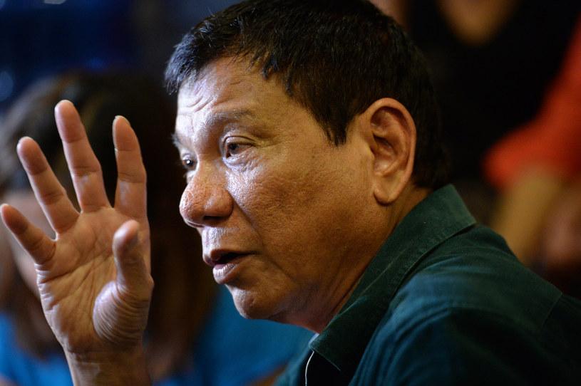 Rodrigo Duterte /TED ALJIBE / AFP /AFP