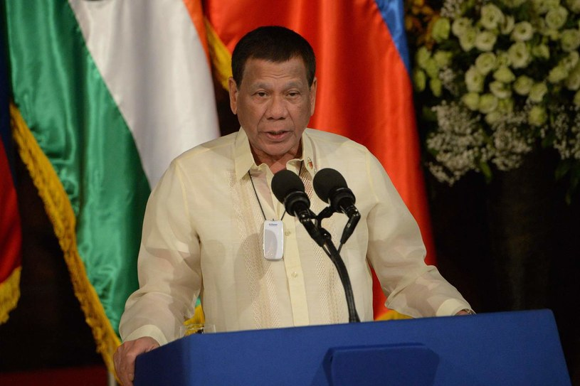 Rodrigo Duterte /TED ALJIBE /AFP