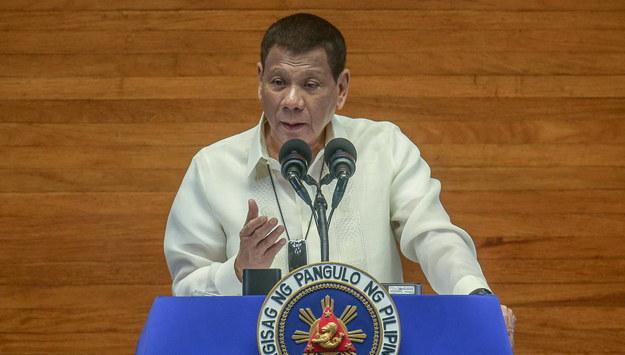 Rodrigo Duterte /CEMION / PPD HANDOUT /PAP/EPA
