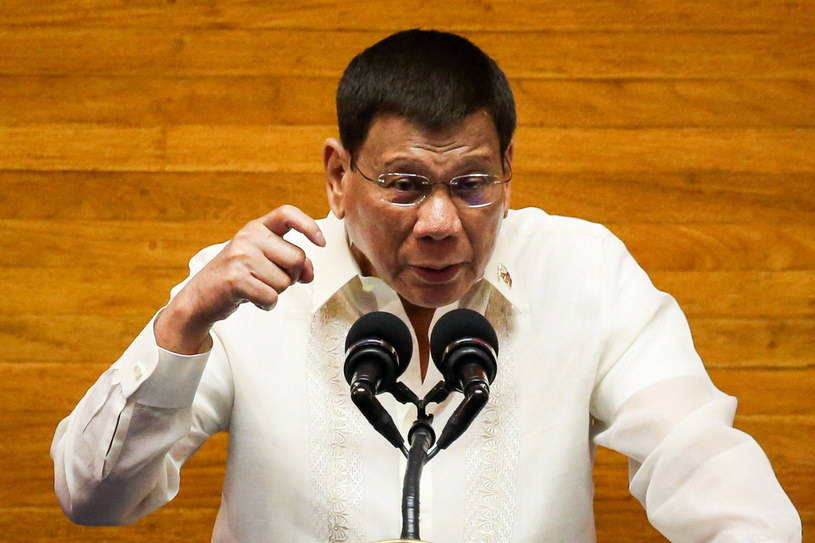 Rodrigo Duterte /ISA MARIE DAVID / POOL /PAP/EPA