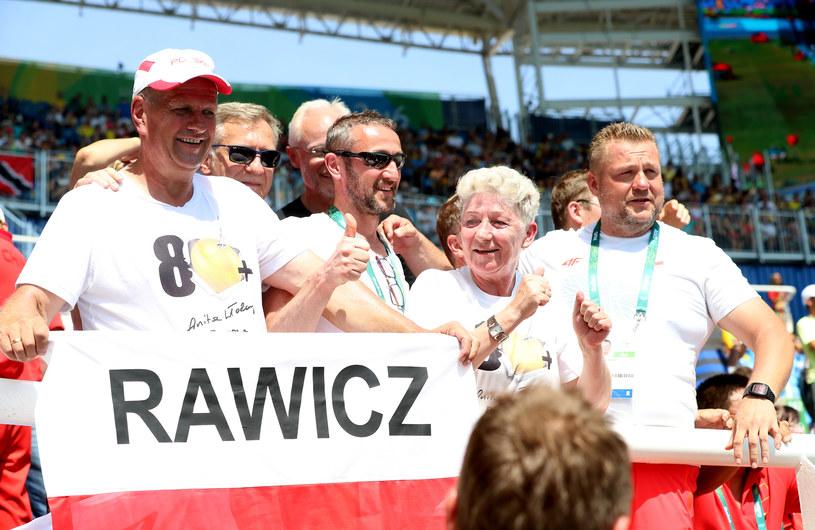 Rodzice i przyjaciele gorąco kibicowali Anicie w Rio /Andrzej Szkocki /East News