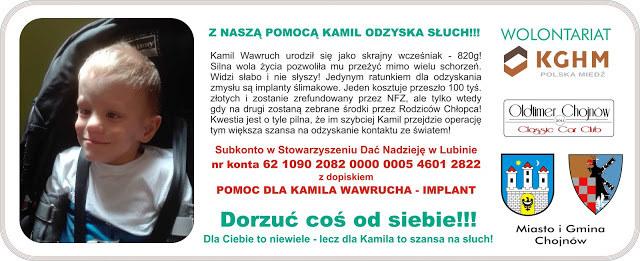 Rodzice Kamila zbierają pieniądze na implant słuchu dla chłopca /Materiały prasowe