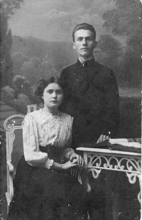 Rodzice pani Aliny Dąbrowskiej /archiwum prywatne