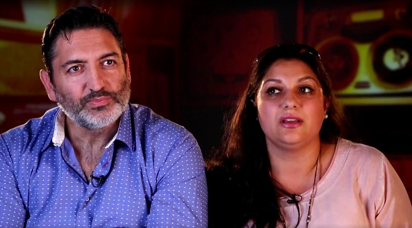 "Rodzice Viki Gabor w ""The Voice Kids"" /TVP"
