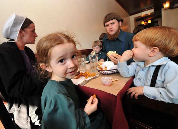 Rodzina amiszów z Lancaster County w Pensylwanii /Paul Martinka /East News