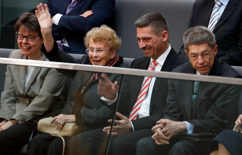 Rodzina Angeli Merkel na zaprzysiężeniu /AFP