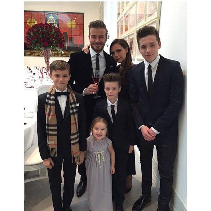 Rodzina Beckhamów /East News