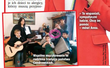 Rodzina Cendrowskich /Dobry Tydzień