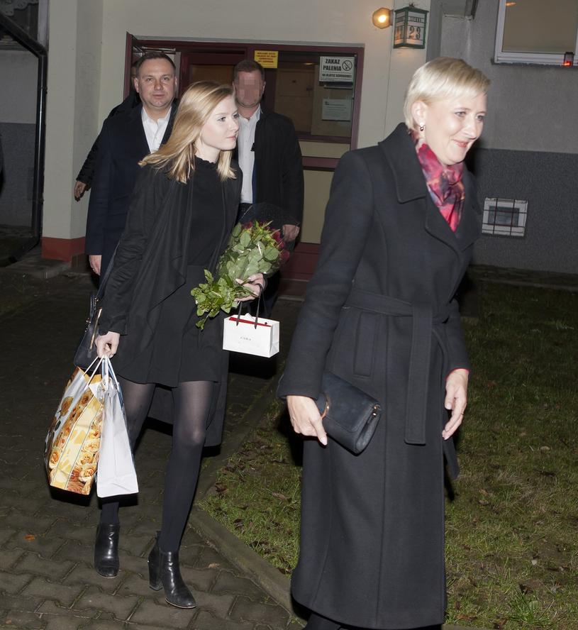 Rodzina Dudów /Łukasz Gagulski/Agencja SE /East News