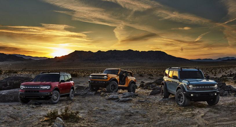 Rodzina Fordów Bronco /