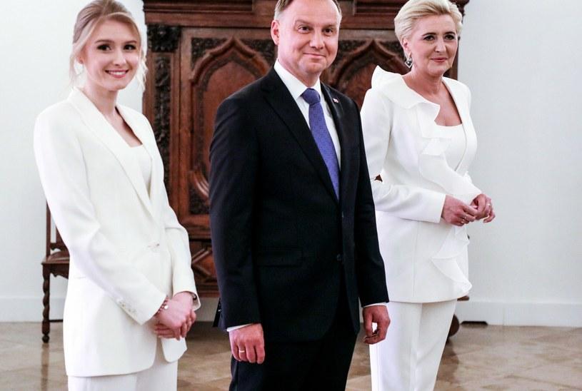 Rodzina i jej prywatność w życiu Andrzeja Dudy i Agaty Kornhauser-Dudy jest bardzo ważna / Jakub Kamiński    /East News