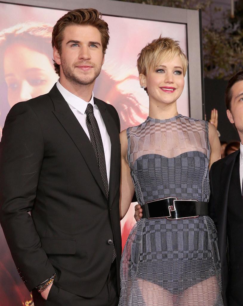 Rodzina Jennifer Lawrence wolałaby, żeby aktorka związała się z Chrisem Hemsworthem /Christopher Polk /Getty Images