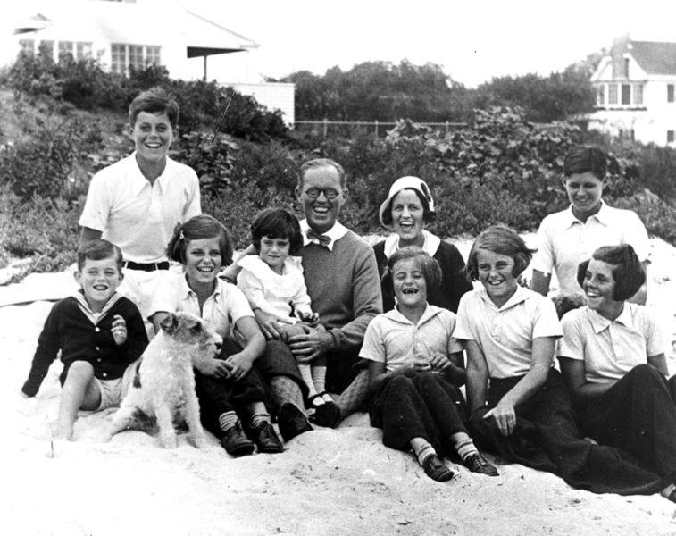 Rodzina Kennedych /domena publiczna