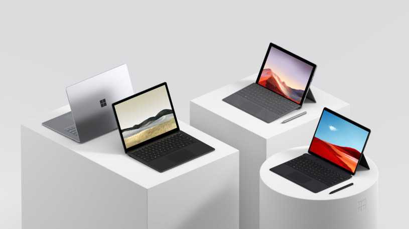 Rodzina komputerów Surface /materiały prasowe