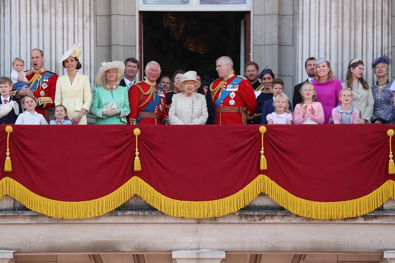 Rodzina królewska, 2019 rok /GC Images /Getty Images