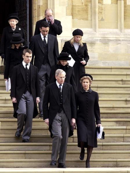 Rodzina królewska z Daviną i Garrym /Tim Graham /Getty Images