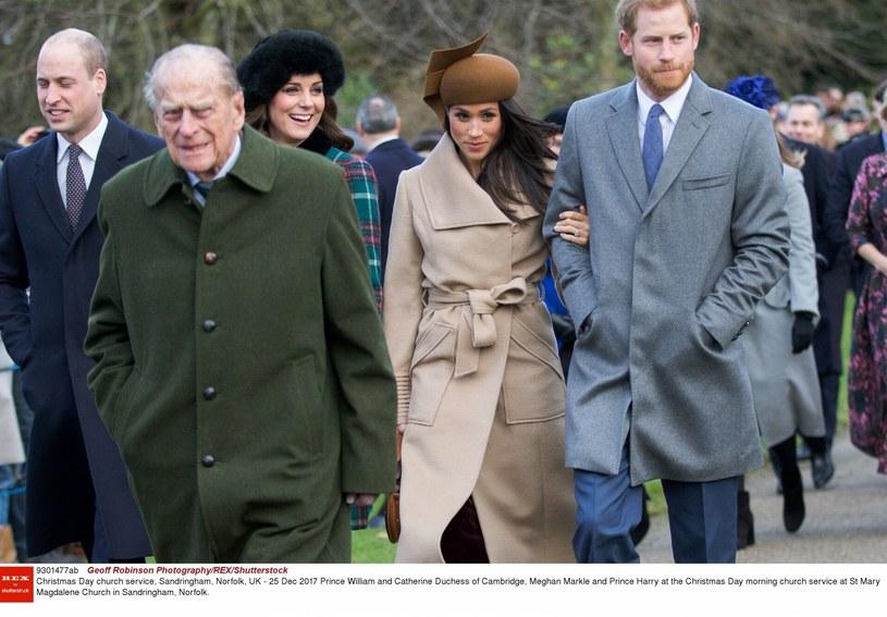Rodzina królewska żegna księcia Filipa, który zmarł 10 kwietnia /Photography/REX/Shutterstock /East News