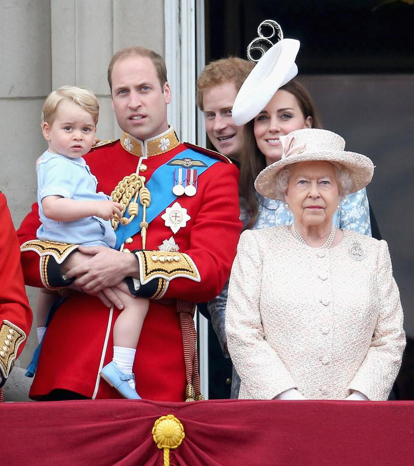 Rodzina królewska /Getty Images