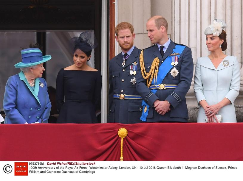 Rodzina królewska /David Fisher/REX/Shutterstock /East News