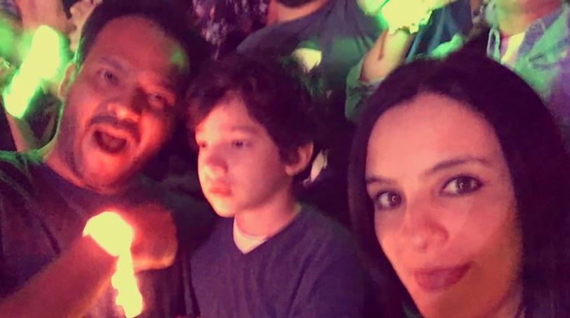 Rodzina Luisa na koncercie /YouTube