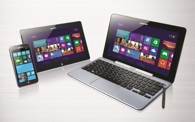 Rodzina nowych produktów Samsunga z systemem Microsoftu /materiały prasowe