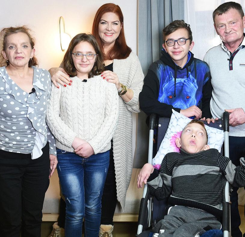 Rodzina pani Izabeli i pana Waldemara /materiał zewnętrzny