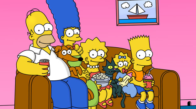 Rodzina Simpsonów, jedna z najsłynniejszych rodzin w telewizji /materiały prasowe