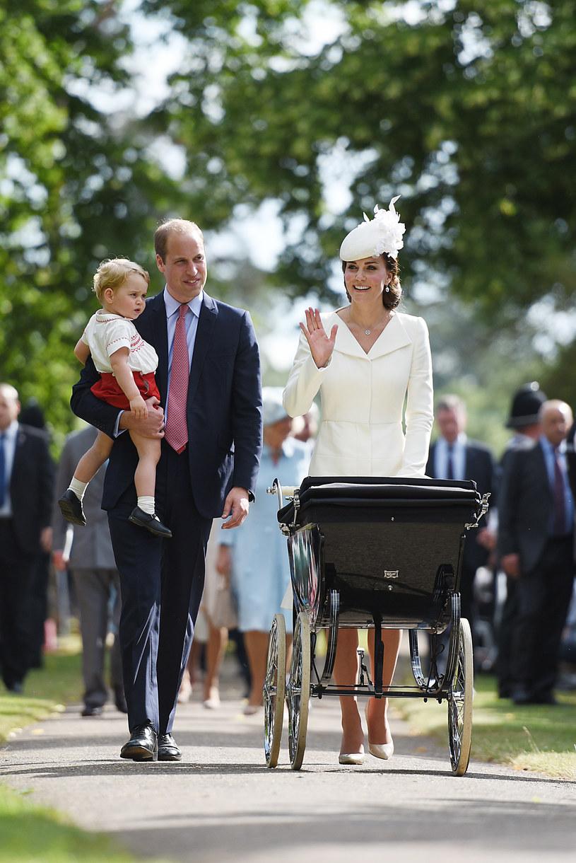 Rodzina w komplecie /WPA Pool /Getty Images