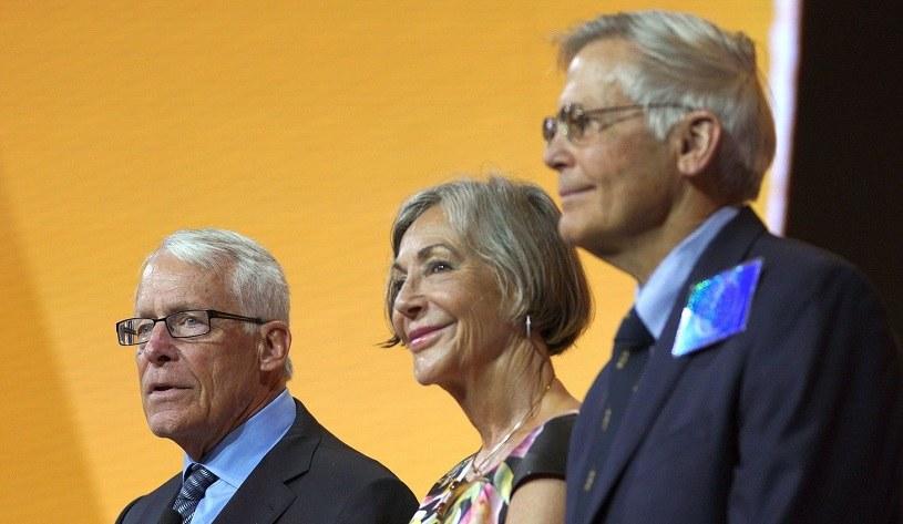 Rodzina Waltonów  (L-P) Rob, Alice i Jim /AFP