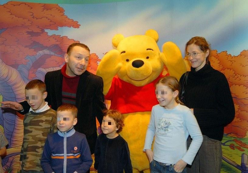 Rodzina Zamachowskich przed laty /- /East News