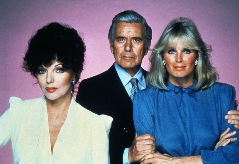 Rodzinę Carringtonów oglądały miliony w 90 krajach, także w Polsce /Rex Features /East News