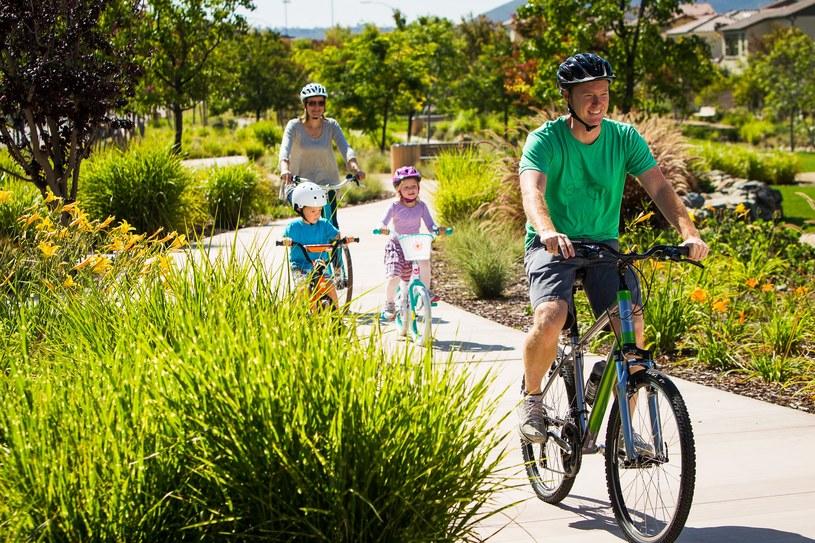Rodzinna przygoda rowerowa. Jak się do niej przygotować? /materiały prasowe