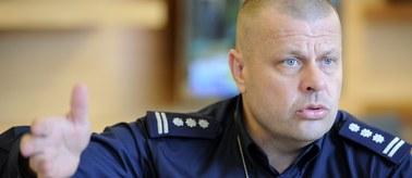 Rodzinne tło dymisji komendanta głównego policji