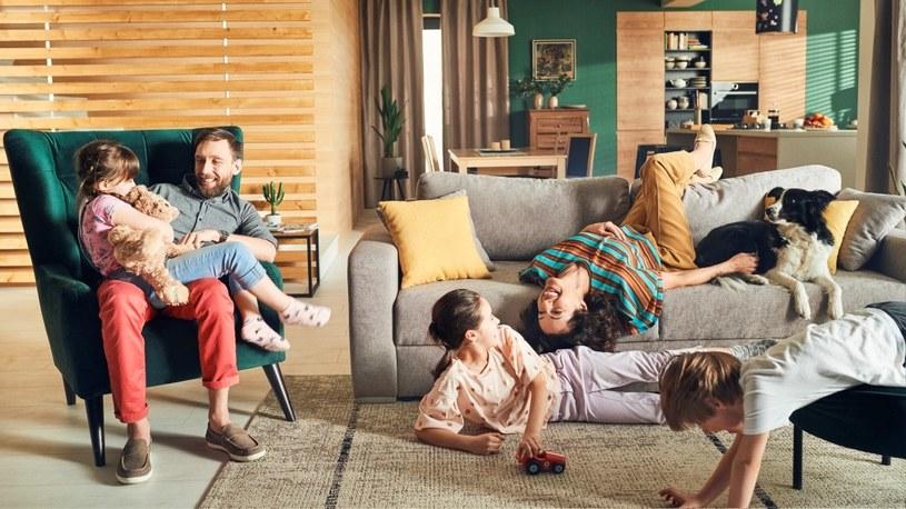 Rodzinny dom to przede wszystkim ciepła atmosfera, którą tworzą nasi najbliżsi /materiały prasowe