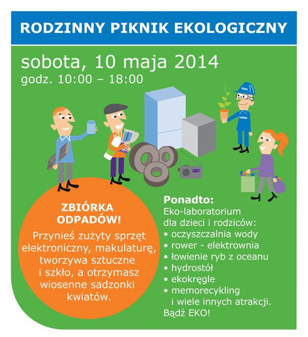 Rodzinny piknik ekologiczny /materiały prasowe