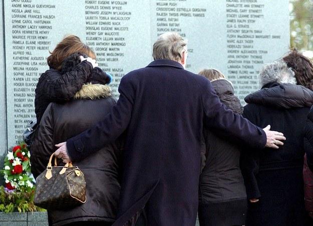 Rodziny ofiar zamachu nad Lockerbie /JIM MC EWAN    /PAP/EPA