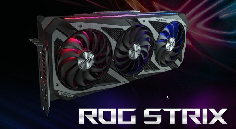 ROG Strix GeForce RTX 30 /materiały prasowe