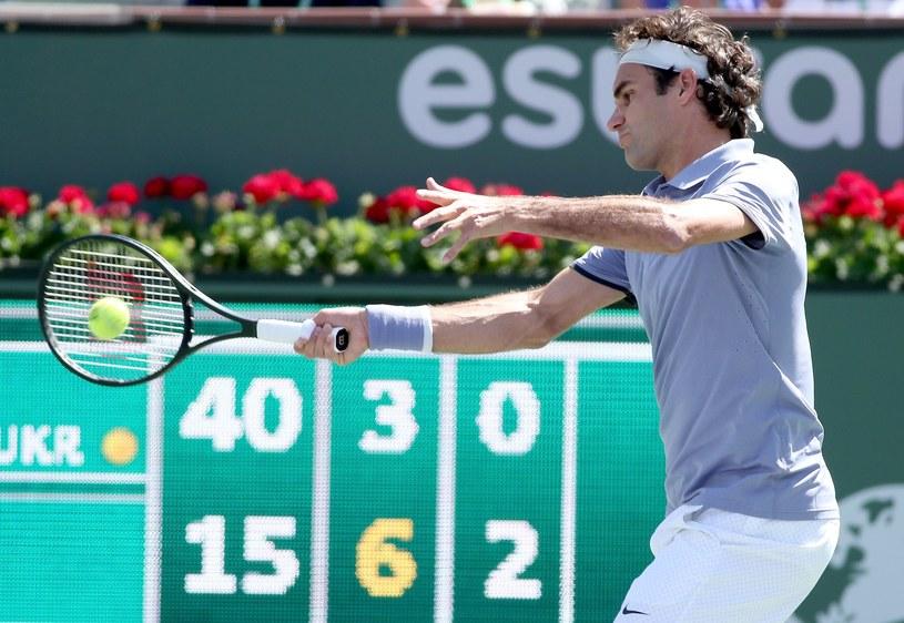 Roger Federer awansował do finału /AFP