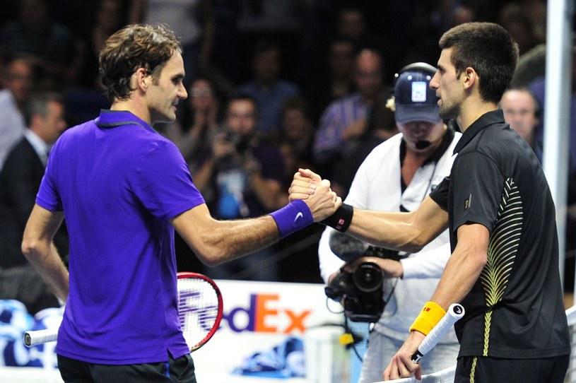 Roger Federer i Novak Djokovic /AFP