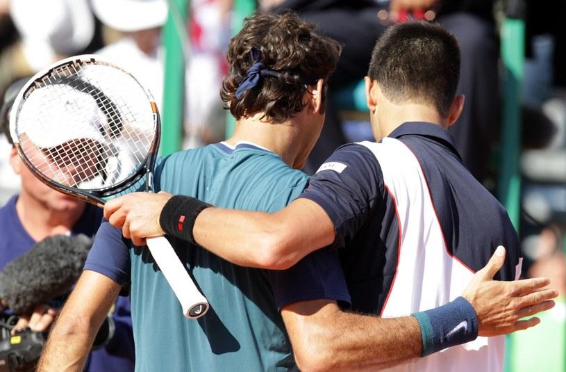 Roger Federer i Novak Djoković /AFP