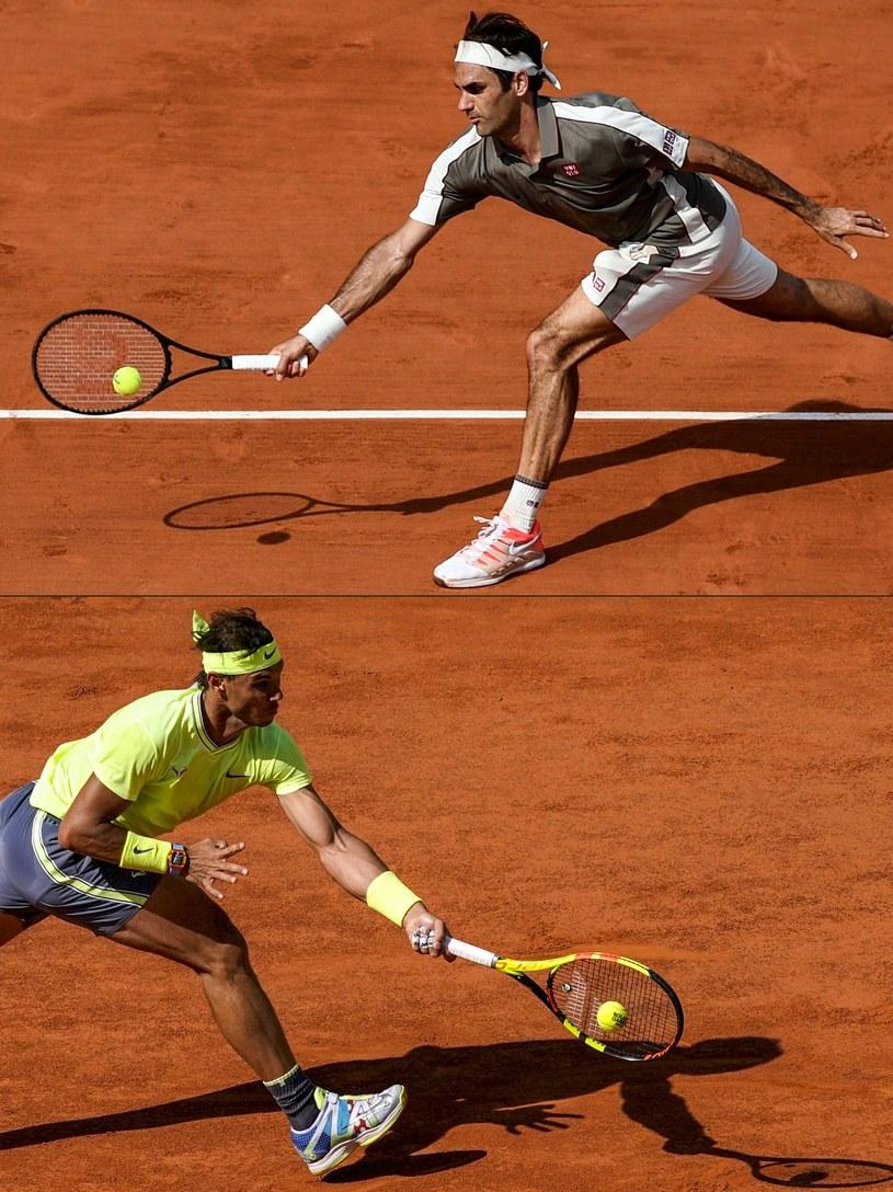 Roger Federer i Rafael Nadal /AFP /AFP