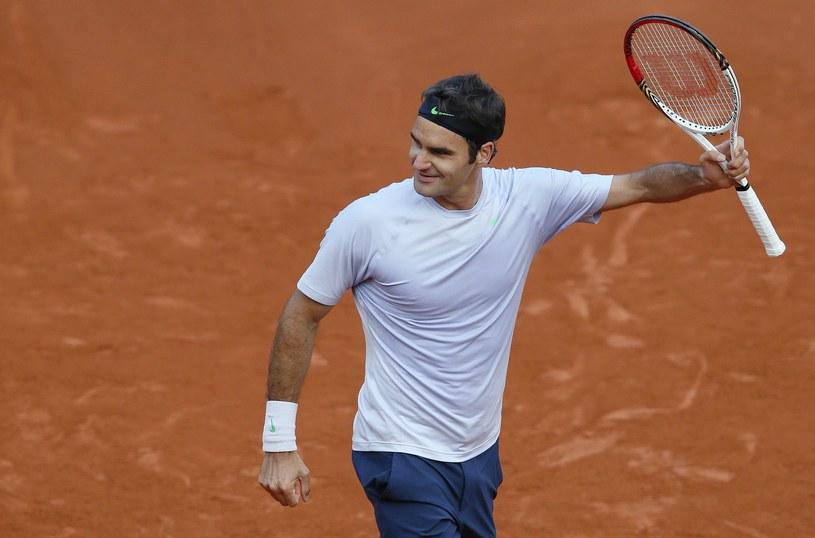 Roger Federer jest już w ćwierćfinale Rolanda Garrosa /AFP