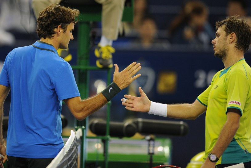 Roger Federer pokonał Stanislasa Wawrinkę /AFP