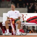 """Roger Federer zawiesił treningi. """"Minie sporo czasu, zanim wrócimy do gry"""""""
