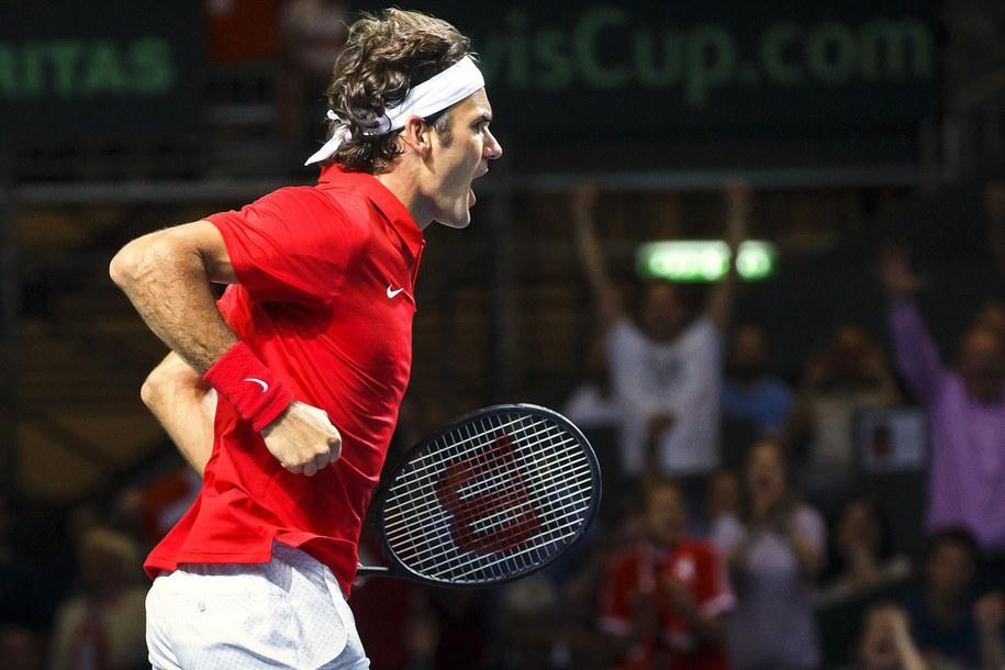 Roger Federer /SALVATORE DI NOLFI /PAP/EPA